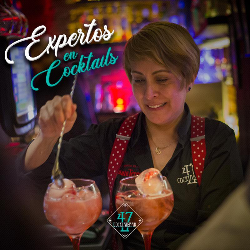 expertos en cocktails